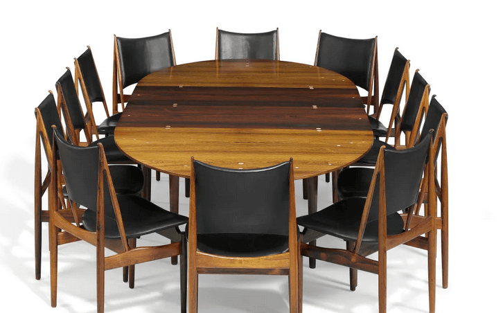 Finn juhl - judas table and egyptian chairs