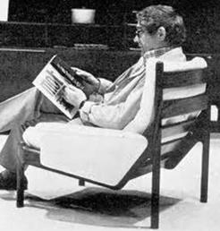Kristian Illum Wikkelsø Portræt stol