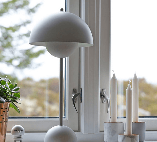 Verner Panton Flowerpot bordlampe