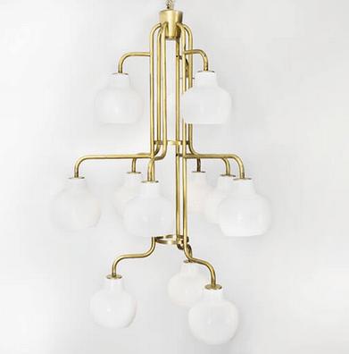 Vilhelm Lauritzen lampe