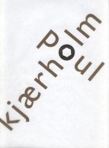 Poul Kjærholm Bog