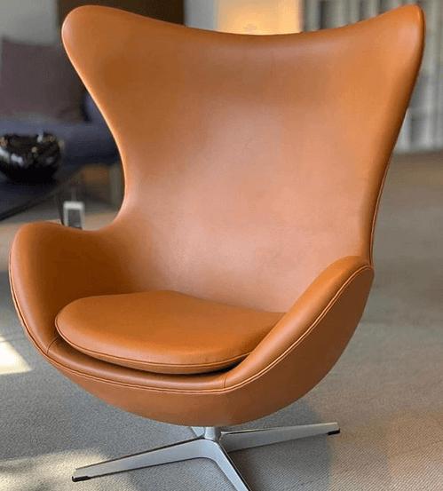 Arne Jacobsen ægget lænestol