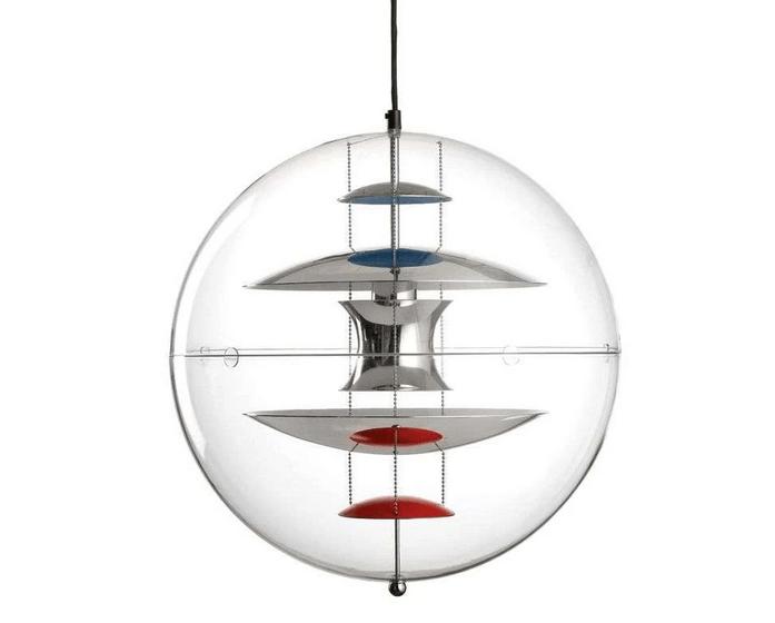 Verner Panton Globe Pendel